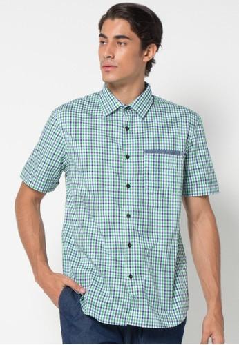 DocDenim green Men Shirt Karrel F73DEAAF0C3090GS_1