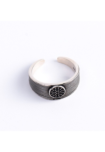OrBeing white Premium S925 Sliver Geometric Ring 5341FAC8DC2BF6GS_1