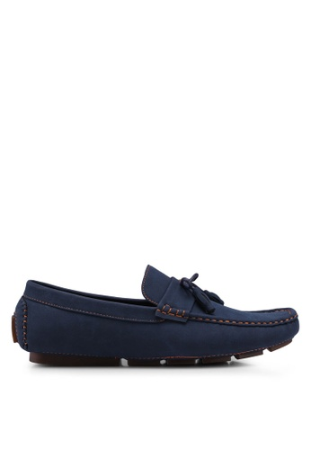 UniqTee blue Tasseled Penny Loafers A7AF8SH06475B6GS_1