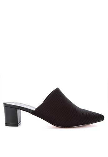 fb819fe68d3 Shop Suki Pointed Toe Heeled Slides Online on ZALORA Philippines