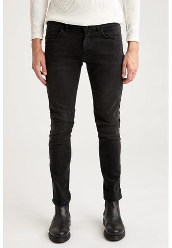DeFacto black Man Denim Wall Trousers 3663EAA30504C6GS_1