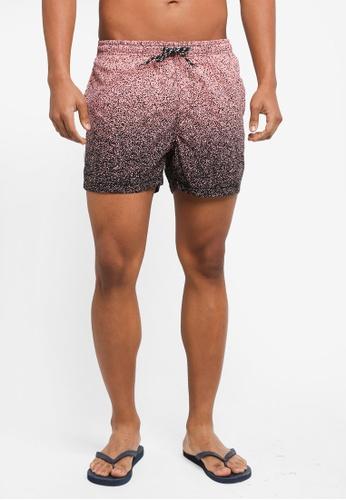 Factorie black Jose Poolboy Shorts E132CAAAA575A4GS_1