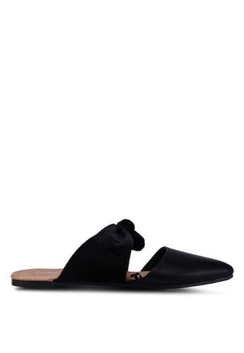 Rubi black Carmen Bow Mules 0F3F1SHAB34756GS_1
