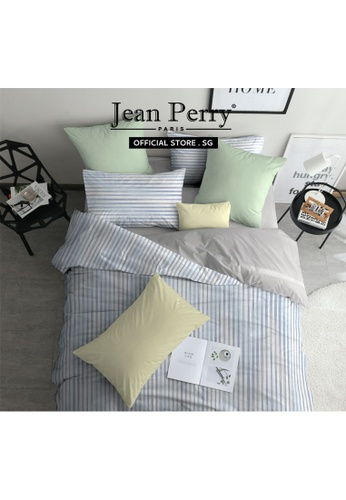 Jean Perry Jean Perry Rivolux 100% Combed Cotton Sateen 1000TC Nadal - Fitted Sheet Set - Queen 57E20HL4903764GS_1