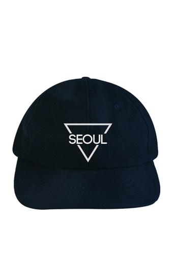 HYPE MNL blue Seoul Baseball Cap F9AD4AC3FFEDFAGS_1