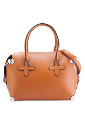 雙提把仿皮手提包, esprit地址包, 手提包