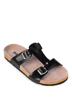 Buckled T-style Slides