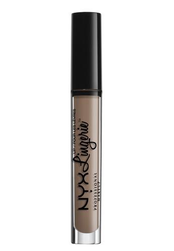 NYX Professional MakeUp brown Lip Lingerie - Delicate Lust 9DEEEBEB8345D9GS_1