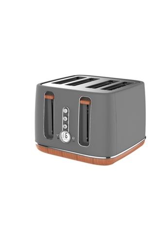 Odette grey Odette Otto Series 4-Slice Bread Toaster (Grey) ED1D5HL65DDB5EGS_1