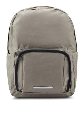 "Rawrow green Square School 450 Cordura 15"" Backpack 19B6DAC5FA44FFGS_1"
