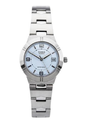 Casio silver Casio-Jam Tangan Wanita-LTP-1241D-2ADF-Silver 11A0AACB129F16GS_1