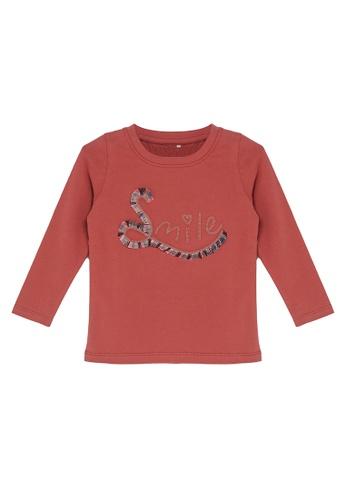 NAME IT red Nelliza Long Sleeves Tee F7285KA5D66339GS_1