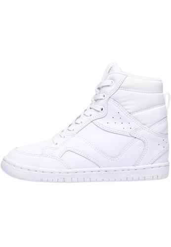 paperplanes Paperplanes-1332 Casual Taller Insole High Top Lace Up Sneakers Shoes US Women Size PA110SH21ZVUHK_1