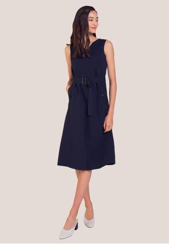 L'zzie blue LZZIE AVI DRESS - BLUE 4318AAA1C0FAC9GS_1