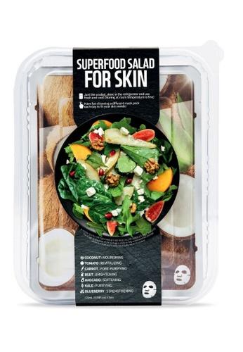 FARMSKIN Farmskin Facial Sheet Mask Superfood Salad Set (Coconut) (7 Pcs) 14C38BEC1CEE40GS_1