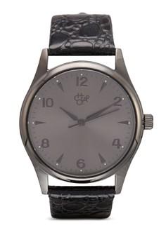 Roger 豹紋圓錶