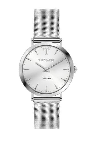 Trussardi silver Trussardi T-Motif Silver Steel Women's Watches R2453140502 E06AEAC3EC7644GS_1