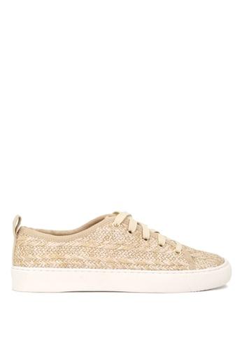 London Rag beige London Rag Sabrina Shea Natural Color Lace Up Sneakers F828ASH078D268GS_1