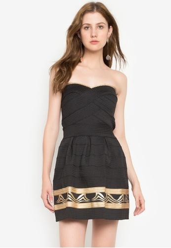 Chase Fashion black Bandeau Bandage Mini Dress E3193AA45BCB13GS_1