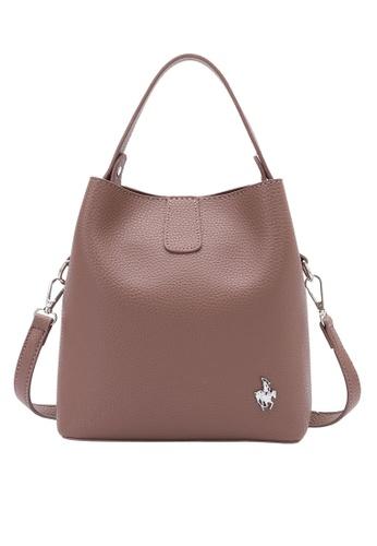Swiss Polo purple Top Handle Sling Bag 0B192AC5526F8BGS_1