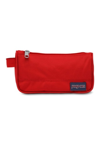 Jansport red Jansport Unisex Medium Accessory Pouch Red Tape -0.8L 3FE1FAC6DA4896GS_1