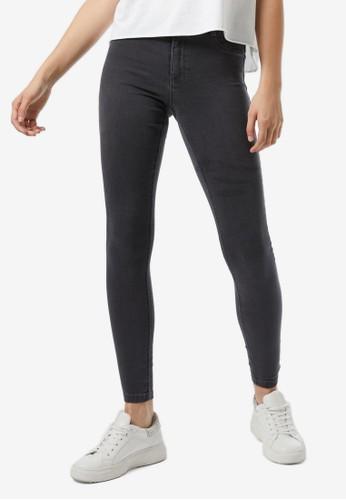 Dorothy Perkins grey Charcoal Frankie Jeans 1E4FEAA3F734E9GS_1