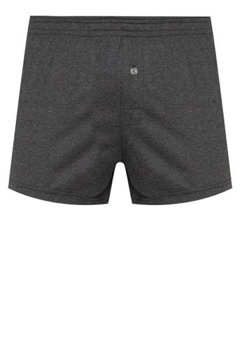 Sunjoy black Boxer Shorts with Button A6214US200E6BAGS_1