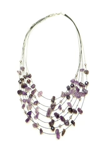 ACEXSPADE purple Phedesta Necklace – Lilac 95D13ACC1F15DFGS_1