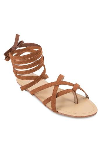 Sofie Baesprit 衣服llerina Strappy Sandals, 女鞋, 鞋
