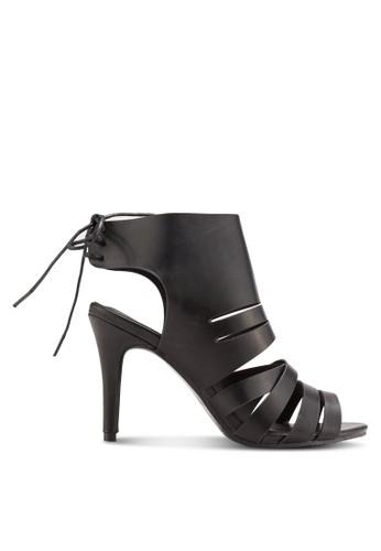 Peep Toe Ankle Wrap Heels