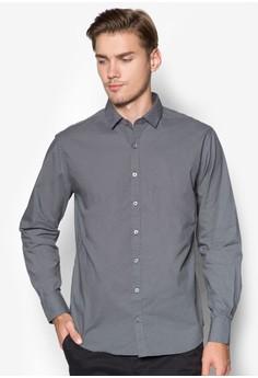 Modern Slim-Fit Pin-Dot Shirt