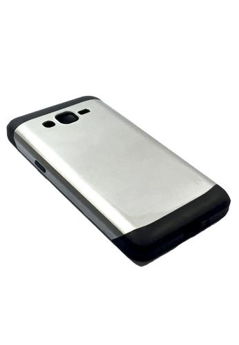 Nadjames silver Hybrid Armor Case for Samsung Galaxy Grand Prime G530 NA782AC05AEOPH_1