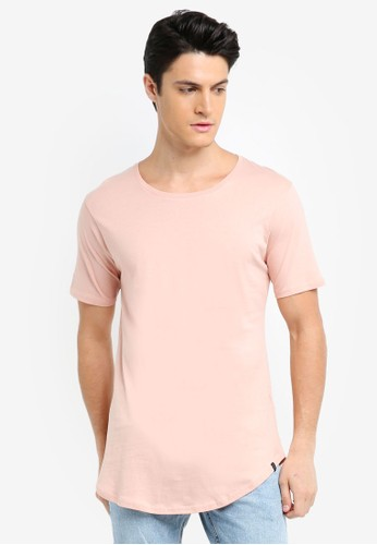 Factorie pink The Curved Tall Tee 37233AA982BA49GS_1