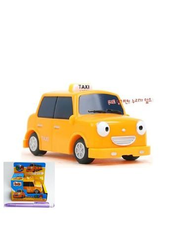Tayo The Little Bus multi Original Tayo The Little Bus Nuri Taxi TYX217011 Mimi World Korean Toys Animation Pull Backward DFF04TH8A40574GS_1
