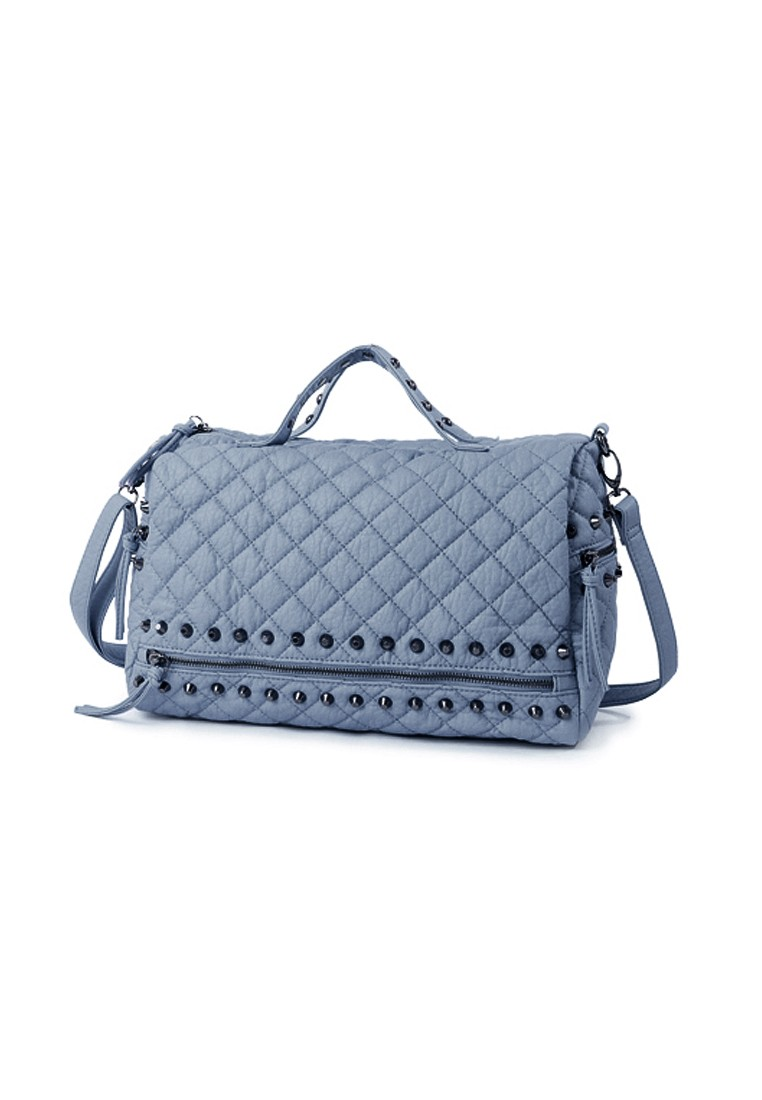 Classic Rock Quilted Handbag
