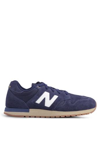 New Balance navy 520 Lifestyle Shoes 327EBSHE3F0440GS_1