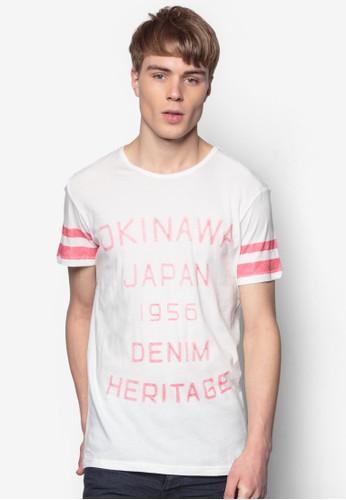 Balloesprit童裝門市u 文字設計TEE, 服飾, 印圖T恤