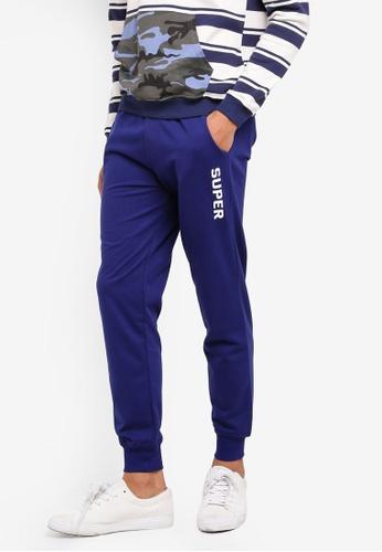 Marc & Giselle blue Sport Long Pants F85E1AAB5904AAGS_1
