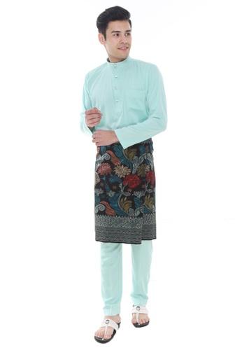 Amar Amran green Baju Melayu Classic C3588AAFC2C4C8GS_1