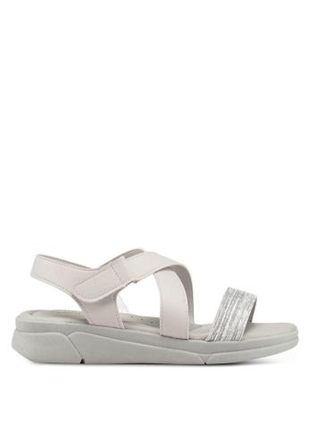 d056f1b2d5c Bata silver Strappy Sandals 2EC56SHB3086EBGS 1