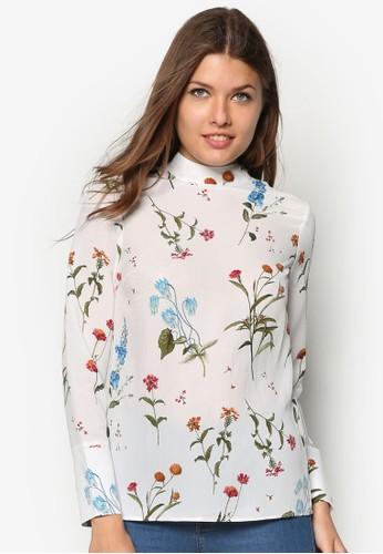 花卉長袖上衣, 服飾, 印花esprit分店時代