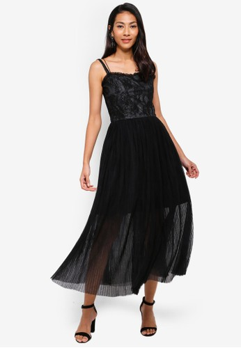 Megane black Red Romance Evonna Tulle Dress 88B66AAAD3946AGS_1