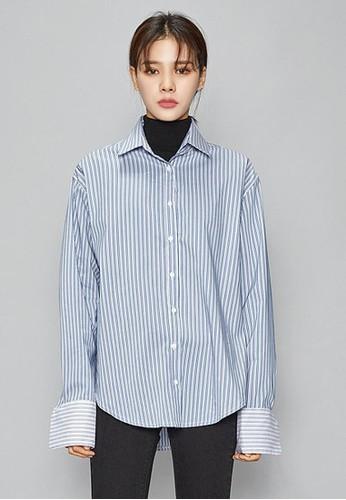 時尚寬袖口襯衫, 服飾, esprit 品牌襯衫