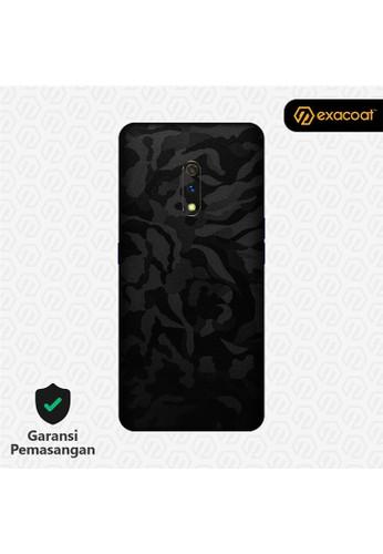 Exacoat Realme X 3M Skins Camo Series - Black Camo 86F7AES785B0BDGS_1