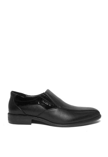 SEMBONIA black SEMBONIA Men Nappa Leather Business Shoe (Black) 00B38SHE261DC0GS_1