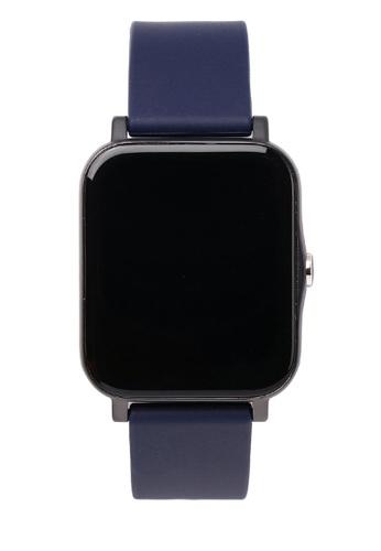 Milliot & Co. navy Timothy Smart Watch 1DA62AC8EC7039GS_1