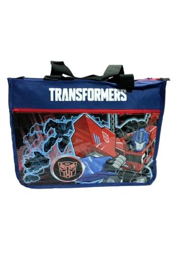 Transformers navy Transformers Trid Optimus Prime Tuition Bag 96061KC4448DD2GS_1