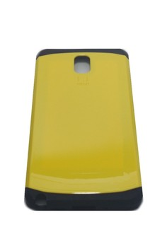 Sleek Shockproof Case for Samsung Note 3 (Yellow)