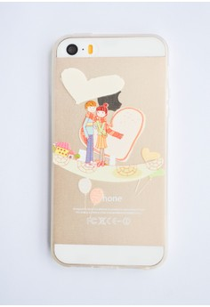 Inlove Transparent Soft Case for iPhone 5/5s