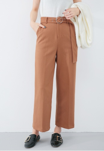 Buy A-IN GIRLS Fashionable Comfortable Wide-Legged Pants Online | ZALORA  Malaysia